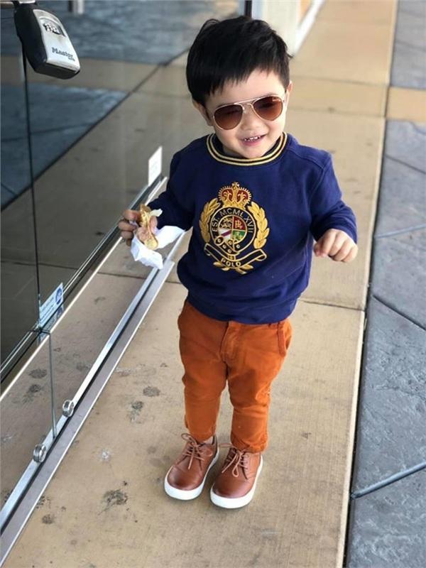 Con trai Đan Trường 4 tuổi sở hữu công ty riêng, mặc toàn hàng hiệu - ảnh 8