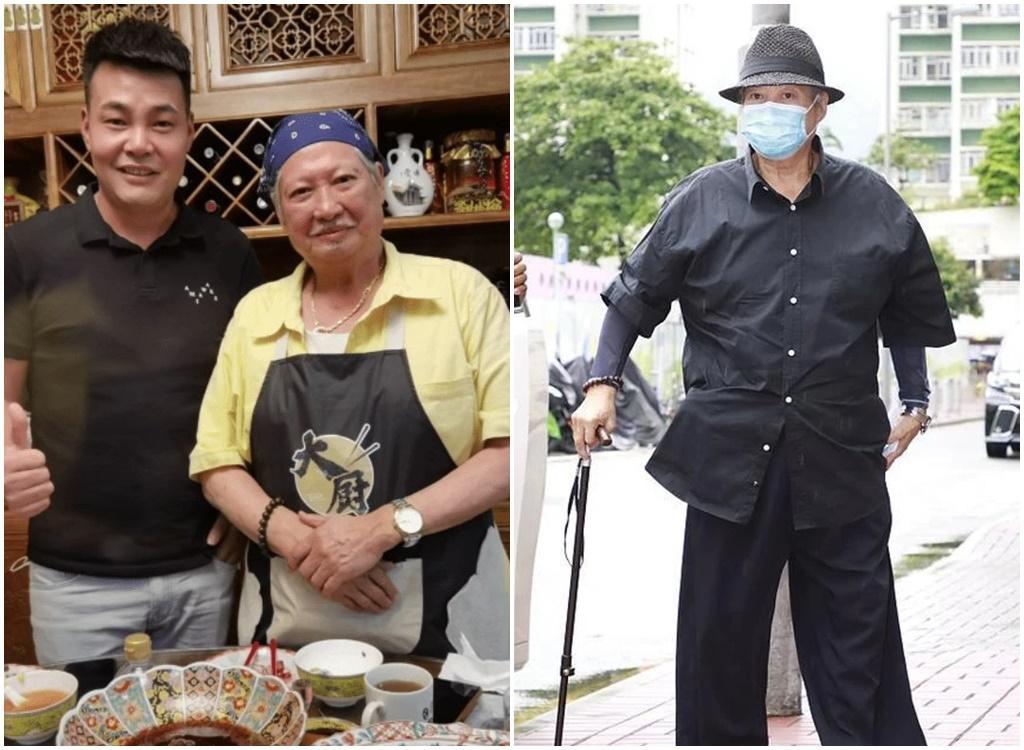 Ngôi sao võ thuật Hồng Kim Bảo ngồi xe lăn đi chợ - ảnh 2