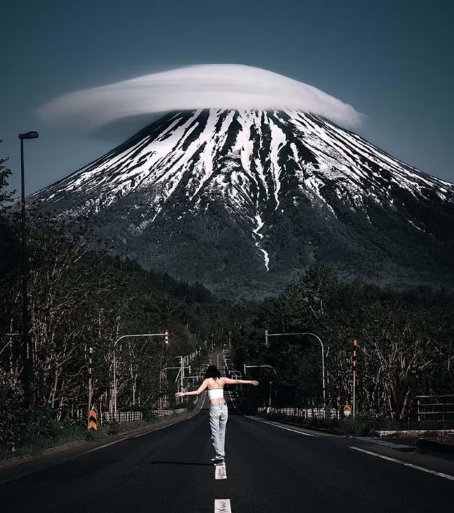 Những bức ảnh đầy kinh ngạc gây bão trên MXH của nhiếp ảnh gia Nhật Bản - ảnh 8