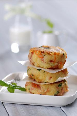 Bánh khoai tây chiên thơm phức cho bữa sáng - ảnh 11