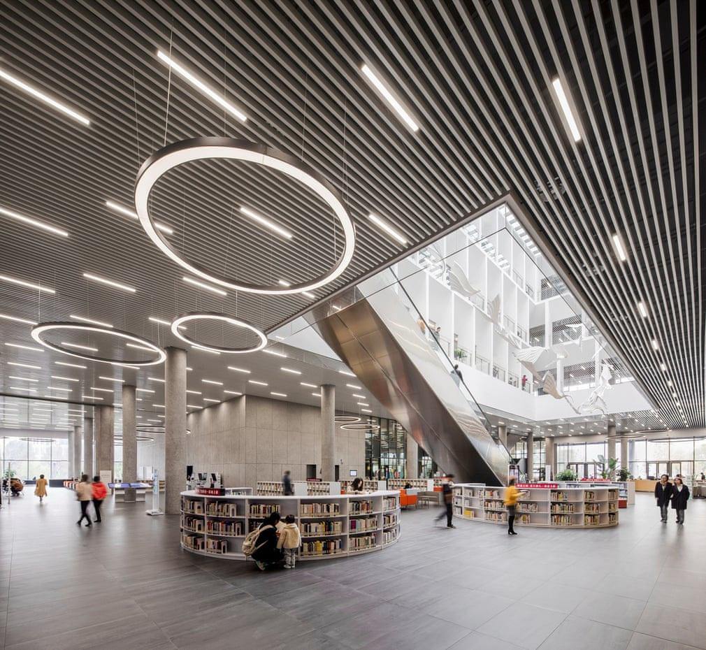 Những thư viện công cộng mới tốt nhất thế giới - ảnh 8
