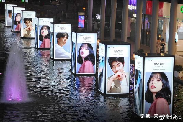 Choáng ngợp với hình ảnh của riêng Lisa (BLACKPINK) phủ sóng khắp mọi nơi tại Trung Quốc - ảnh 11