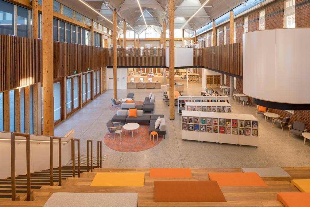 Những thư viện công cộng mới tốt nhất thế giới - ảnh 2