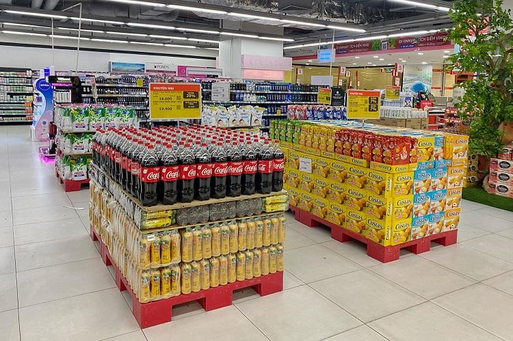 Hà Nội: Thực phẩm đầy ắp kệ hàng, siêu thị cam kết bình ổn giá phục vụ nhân dân chống dịch - ảnh 4