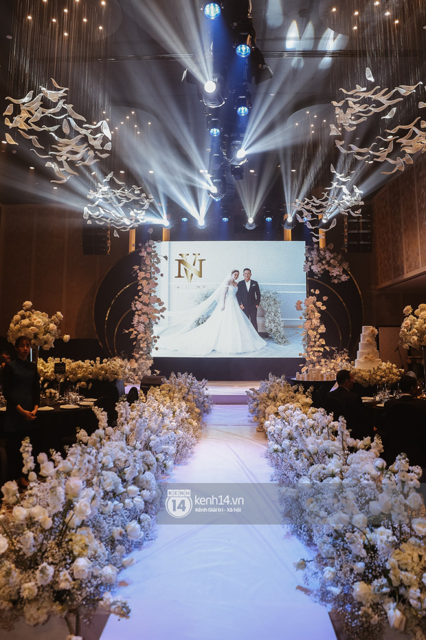 Không chỉ Bảo Thy, đám cưới Giang Hồng Ngọc cũng gây ấn tượng với thực đơn