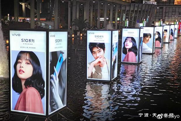 Choáng ngợp với hình ảnh của riêng Lisa (BLACKPINK) phủ sóng khắp mọi nơi tại Trung Quốc - ảnh 5