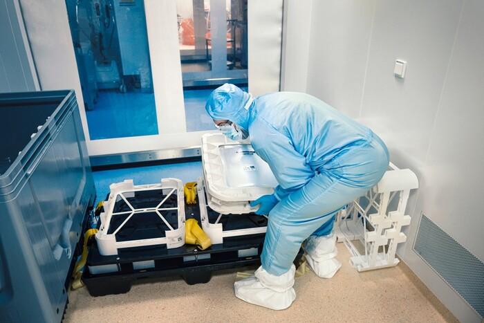 Bên trong cơ sở sản xuất vaccine Covid-19 của BioNTech - ảnh 9