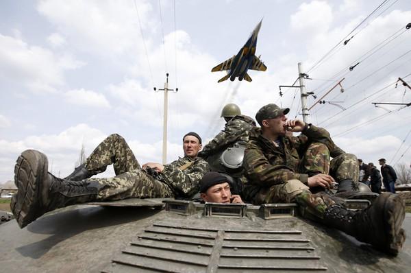 [ẢNH] Ly khai miền Đông mong đợi hành động từ Nga sau bài báo của ông Putin - ảnh 13