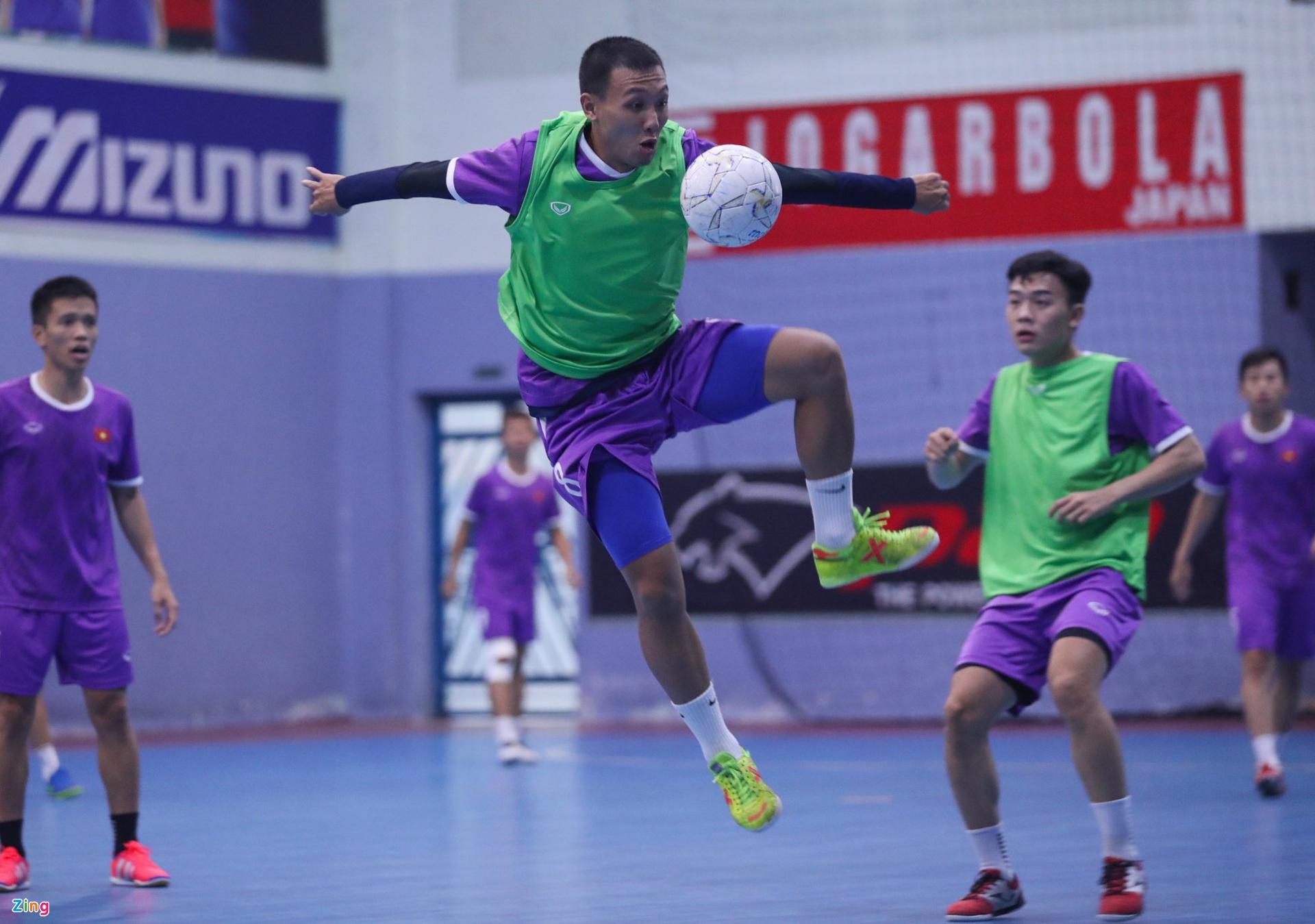 Tuyển futsal Việt Nam thay đổi nhân sự dự World Cup - ảnh 4