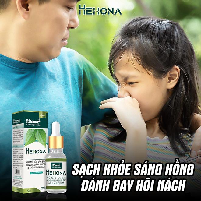 Tút lại tự tin, đánh bay mùi hôi cơ thể cùng serum khử hôi nách Hehona - ảnh 3
