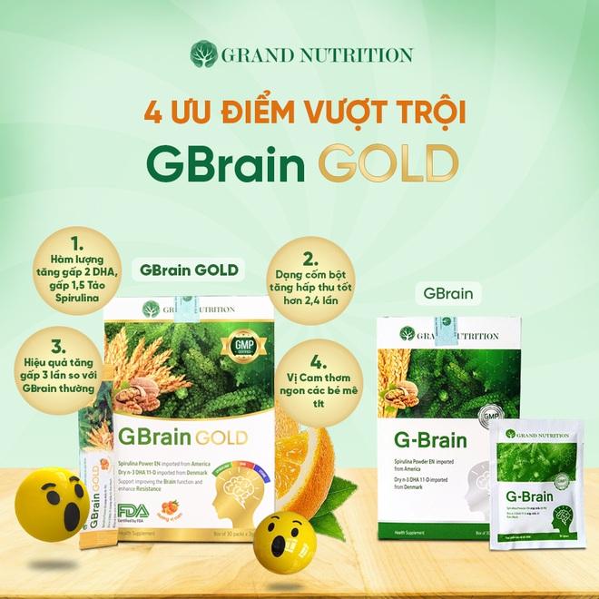 Grand Nutrition ra mắt dòng sản phẩm cao cấp mới: Cốm trí não GBrain Gold - ảnh 2
