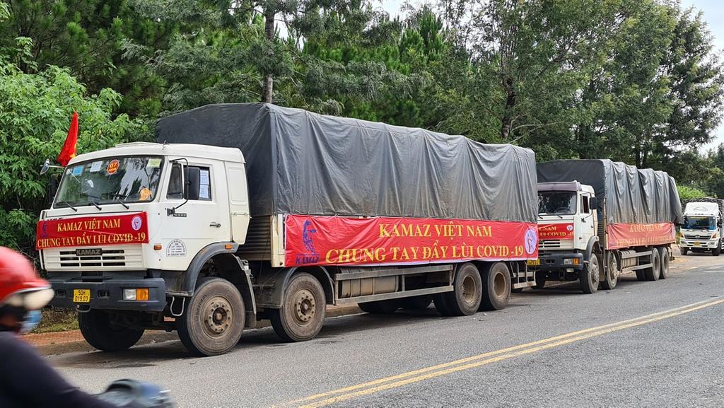 Hơn 250 tấn rau củ từ Đà Lạt hỗ trợ TP.HCM và các tỉnh vùng dịch Covid-19 - ảnh 6