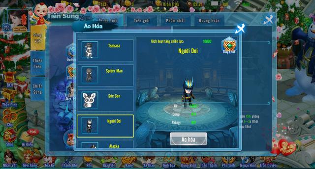 """""""Xuyên không""""với hệ thống Pet đồ sộ từ cổ đại đến tương lai của Phi Tiên Mobile - Game"""