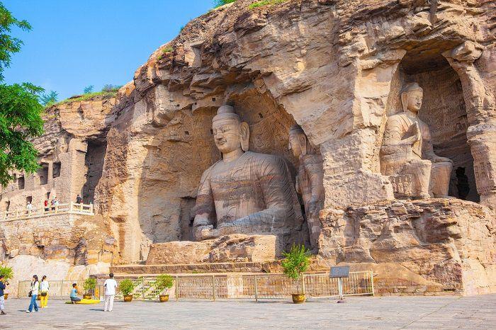 Hang đá Vân Cương, hang động hàng ngàn năm tuổi lưu giữ hơn 50.000 tượng Phật của Trung Quốc - ảnh 8