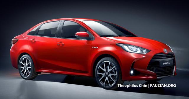 Xem trước Toyota Vios thế hệ mới: Lấy cảm hứng từ Prius, nội thất nhìn qua đã thấy mê - ảnh 6