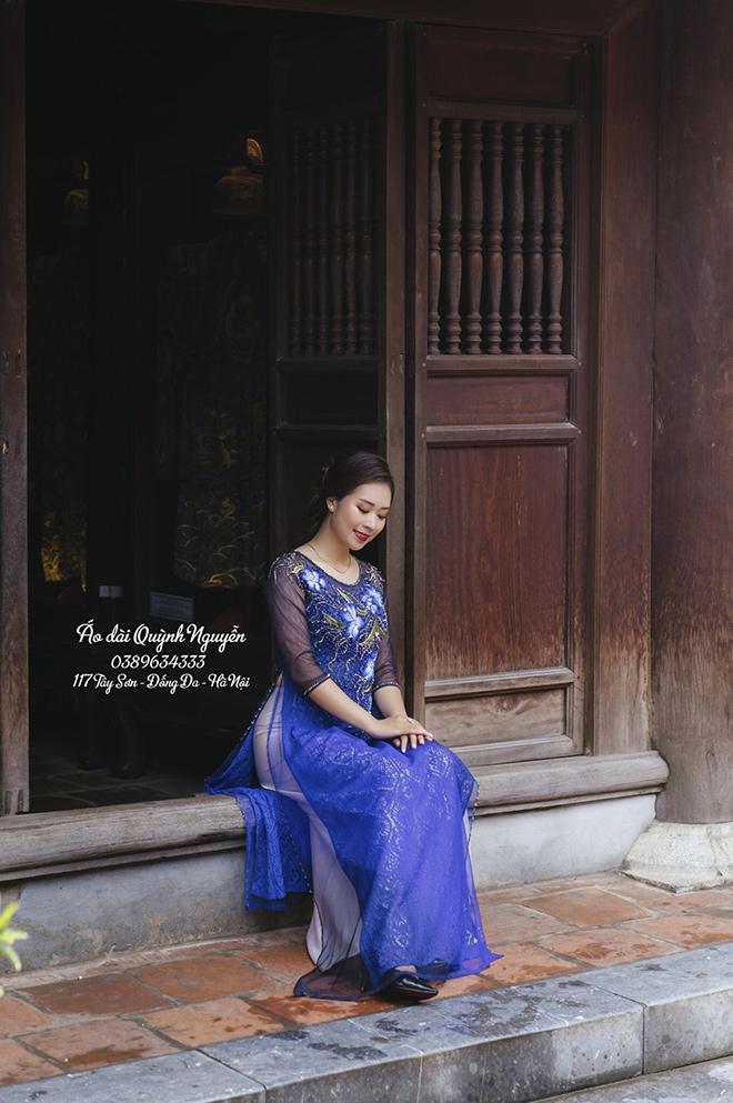 Bí quyết ''vàng'' khi chọn mua áo dài phái đẹp cần lưu ý - Áo dài Quỳnh Nguyễn bật mí - ảnh 4
