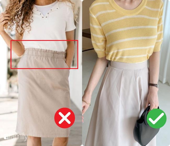 Diện chân váy không lộ bụng to: Có 2 chi tiết chỉ cần khéo điều chỉnh là bụng phẳng, eo thon ngon lành - ảnh 3