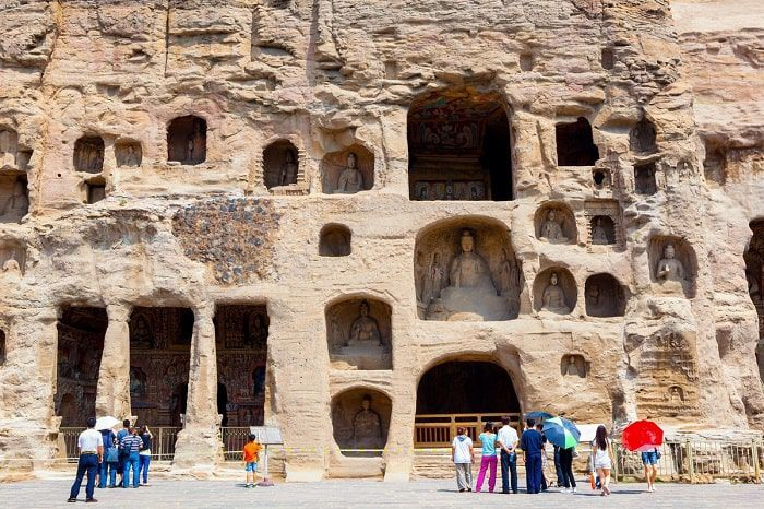 Hang đá Vân Cương, hang động hàng ngàn năm tuổi lưu giữ hơn 50.000 tượng Phật của Trung Quốc - ảnh 2