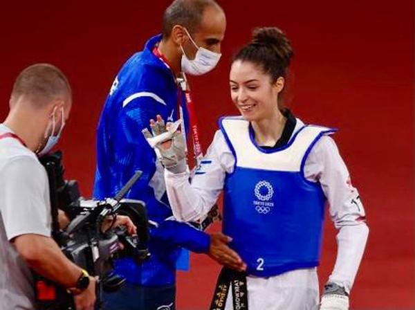 [ẢNH] Nữ võ sỹ tuổi teen gây sốt ở thảm đấu Olympic Tokyo - ảnh 8