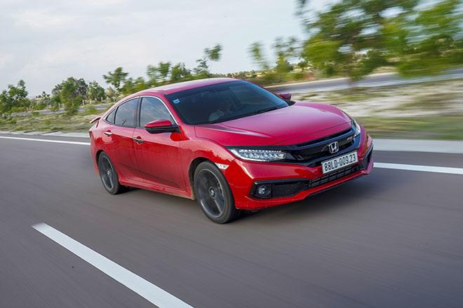 Giá xe Honda Civic lăn bánh tháng 7/2021 - ảnh 9