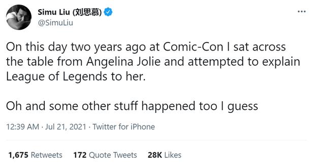 """Nam diễn viên đóng vai siêu anh hùng võ thuật Shang-Chi hóa ra cũng là """"fan cứng"""" của Liên Minh Huyền Thoại - ảnh 2"""