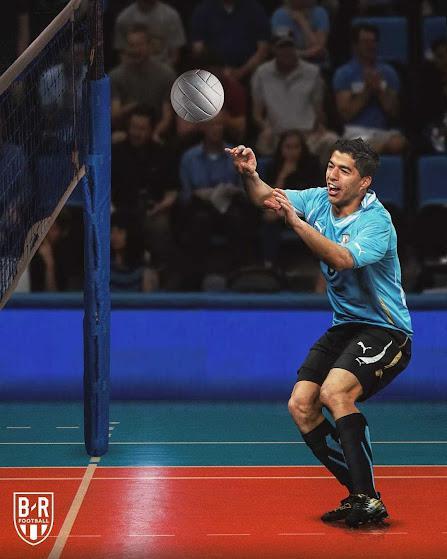 Ronaldo thi nhảy cao, Messi hóa xạ thủ đóng vai VĐV tranh tài ở Olympic 2021 - ảnh 7