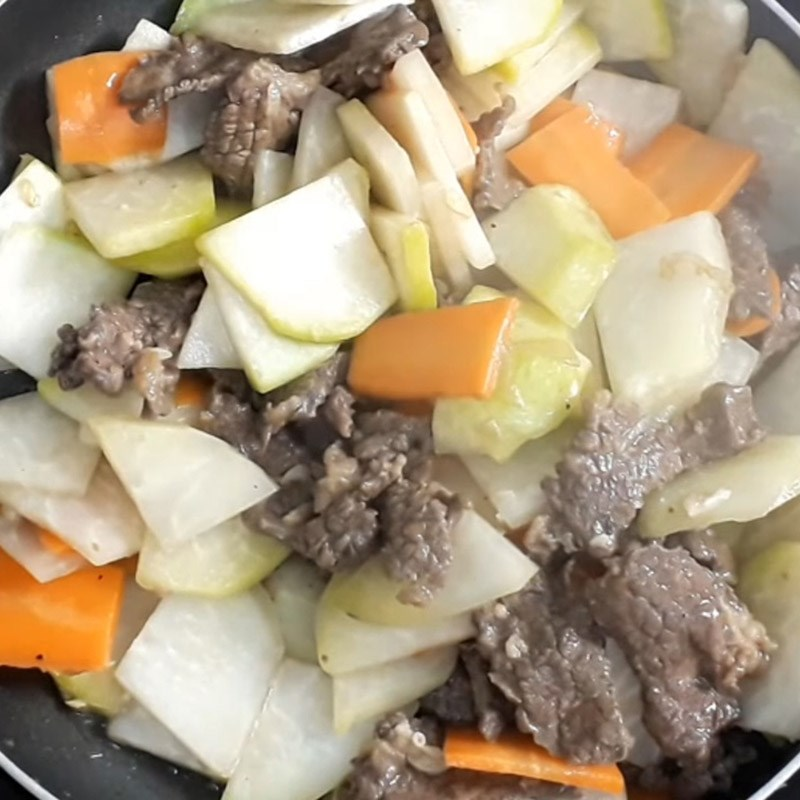 Cách làm su hào xào bò đơn giản dễ làm dễ ăn ai cũng mê - ảnh 13