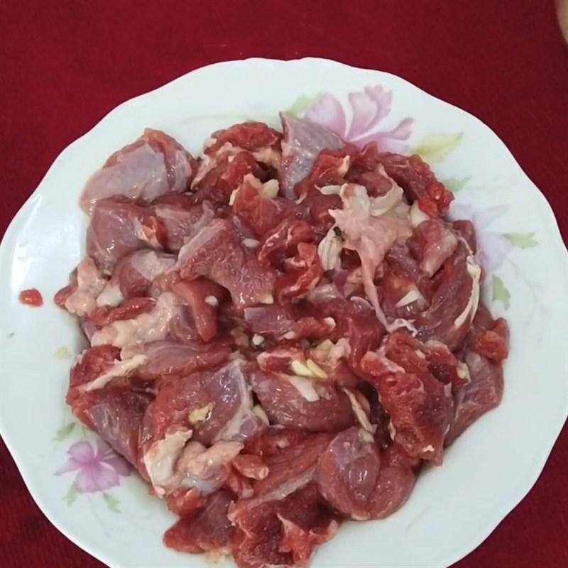 Cách làm cải thìa xào thịt bò thơm ngon lạ miệng hấp dẫn ăn hoài không ngán - ảnh 9