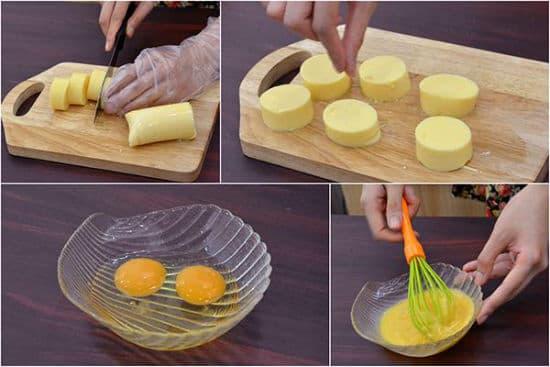 Hướng dẫn cách làm đậu hũ trứng chiên xù thơm ngon đơn giản tại nhà - ảnh 3