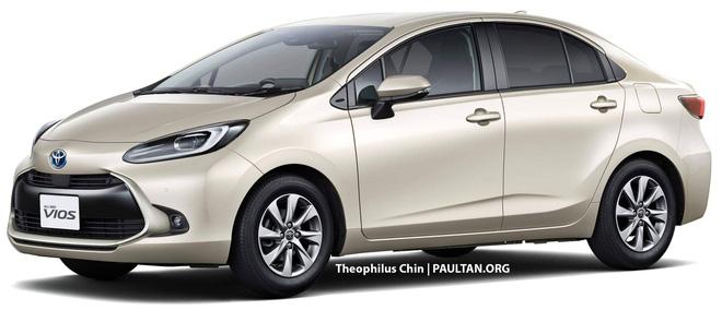 Xem trước Toyota Vios thế hệ mới: Lấy cảm hứng từ Prius, nội thất nhìn qua đã thấy mê - ảnh 2