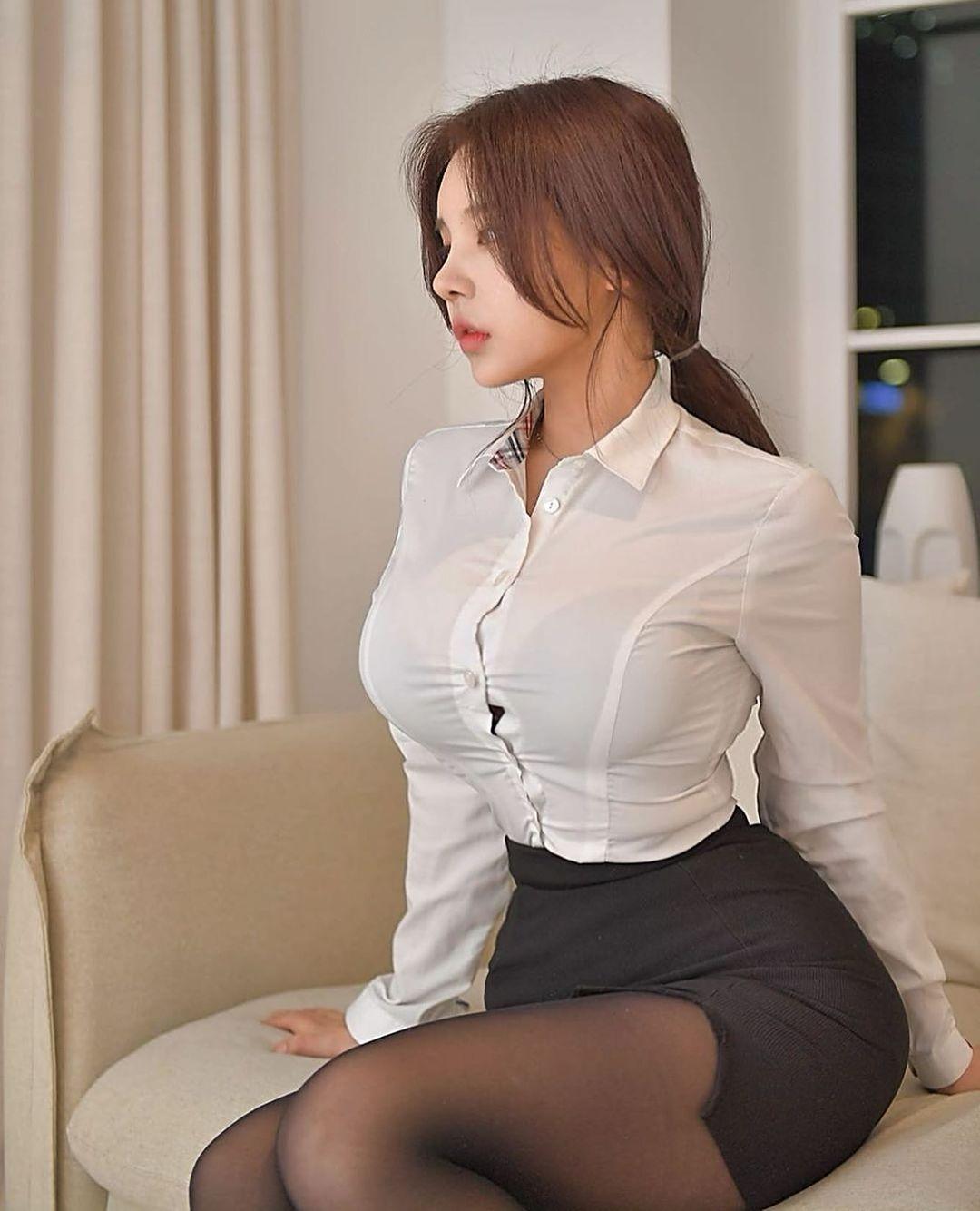 """""""Nữ nhân viên công sở"""" đẹp nhất Hàn Quốc gây trầm trồ vì điều này - Phái đẹp"""