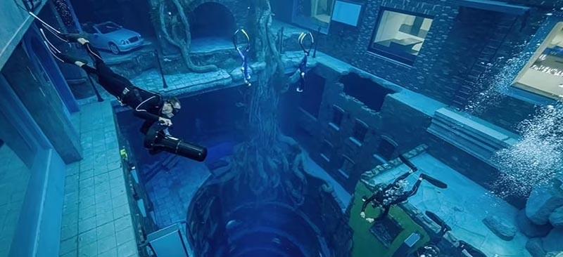 Bể bơi sâu nhất thế giới - ảnh 11