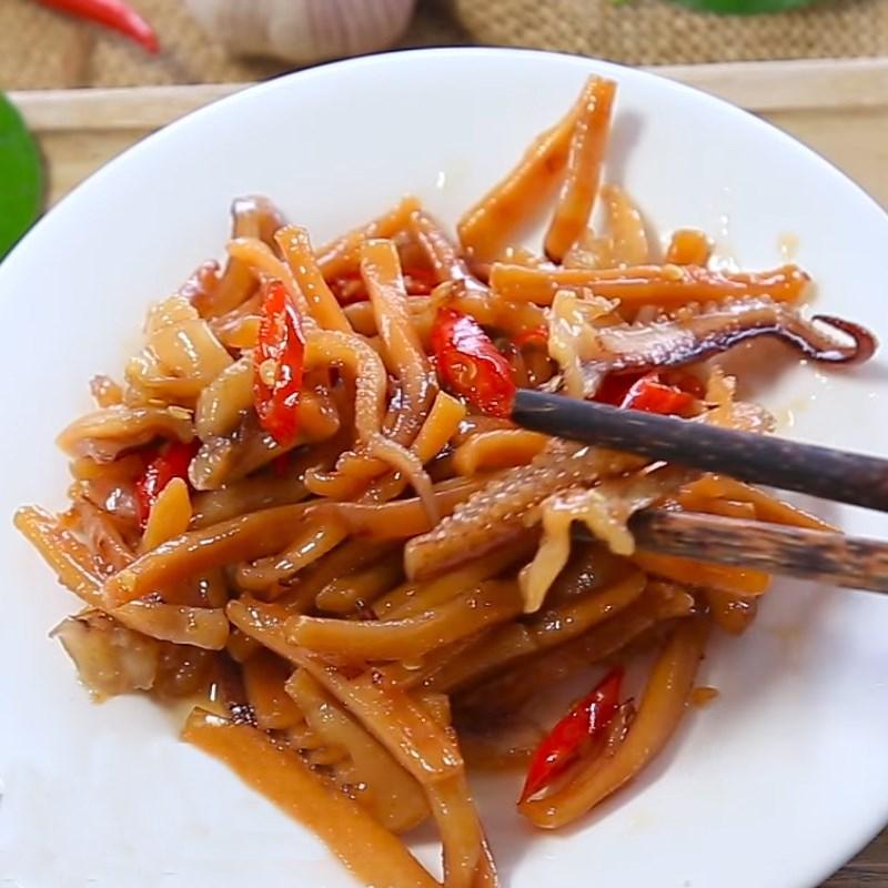 2 cách làm mực khô xào chua ngọt và xào me dễ ăn dễ nghiện đơn giản - ảnh 10
