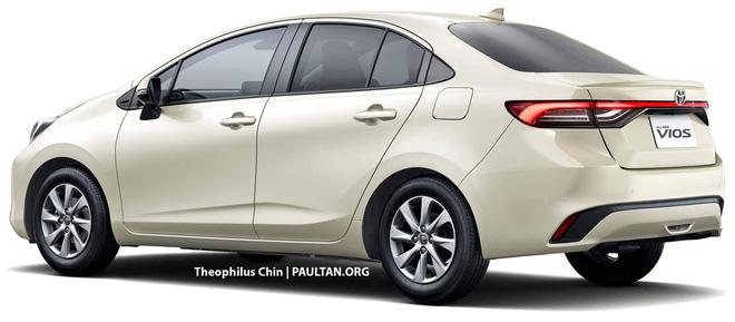 Xem trước Toyota Vios thế hệ mới: Lấy cảm hứng từ Prius, nội thất nhìn qua đã thấy mê - ảnh 3