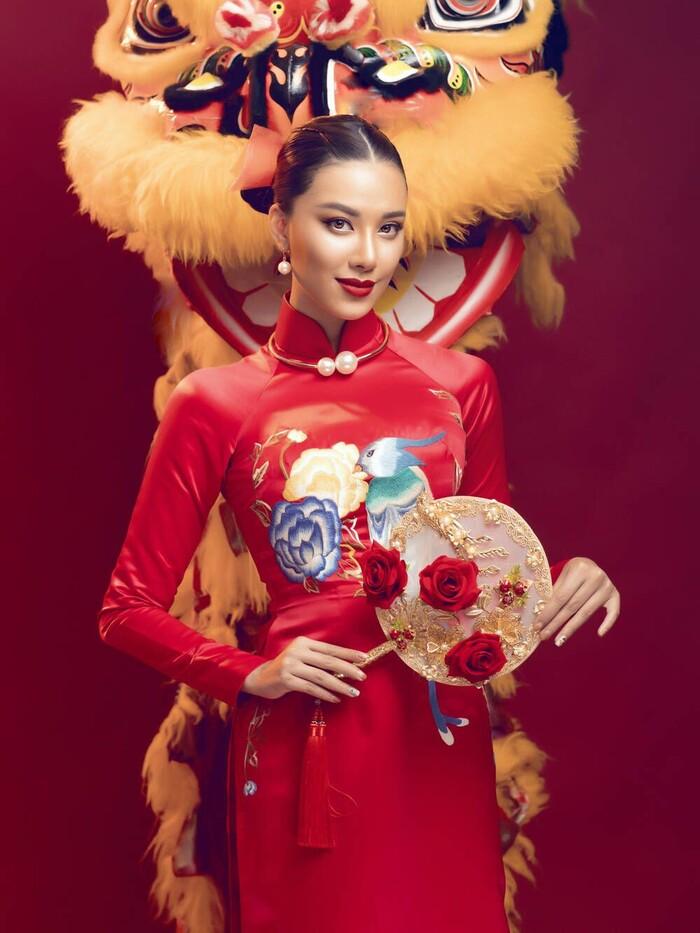 National Costume của Kim Duyên gửi tới Miss Universe mang đậm văn hóa miền Tây: Cầu kì hơn cả Kén Em - ảnh 6