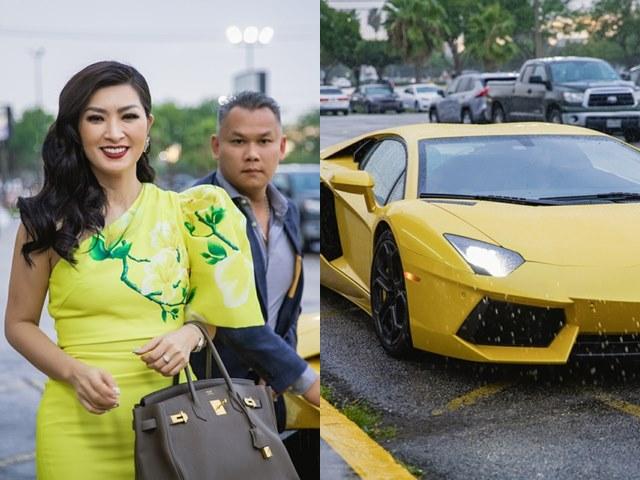 Nữ ca sĩ lái Lamborghini 500.000 USD từng lao đao vì
