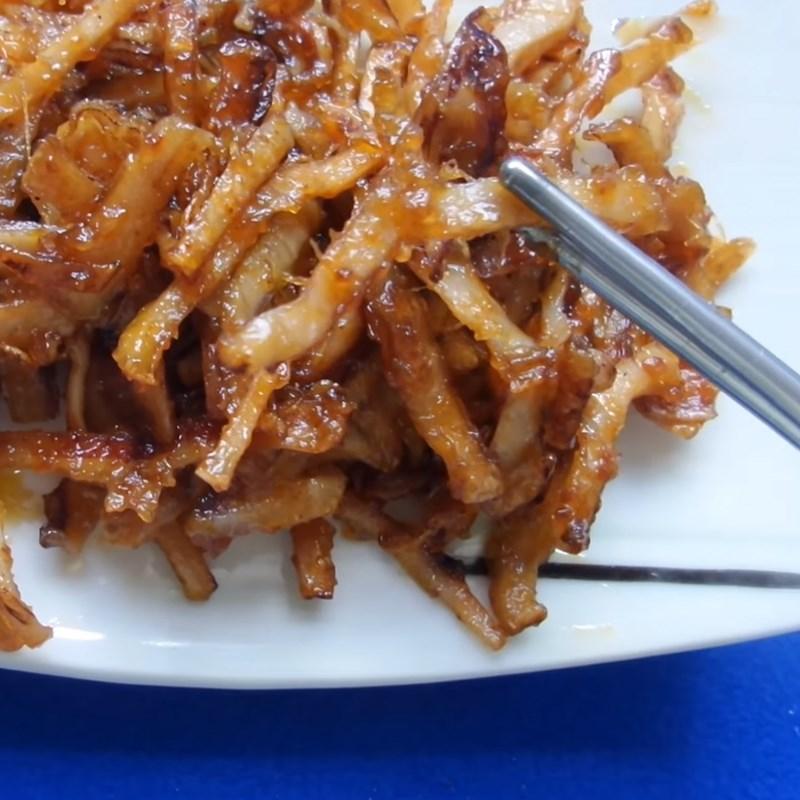 2 cách làm mực khô xào chua ngọt và xào me dễ ăn dễ nghiện đơn giản - ảnh 22