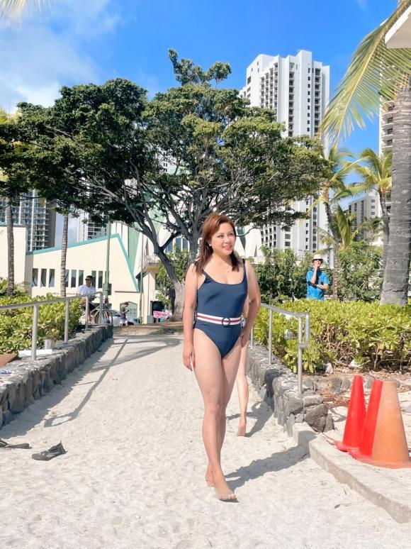 Lần đầu tiên diện bikini, vợ cũ Hoàng Anh ''lấy hết can đảm'' để đăng ảnh - ảnh 2