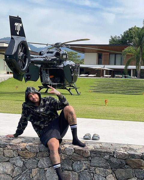 Neymar khoe trực thăng cá nhân trị giá hơn 300 tỷ - ảnh 2