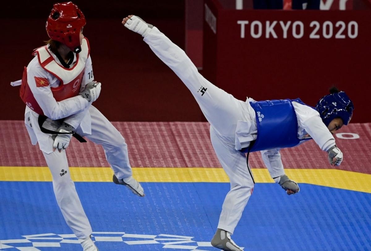 Thể thao Việt Nam tại Olympic Tokyo: Nguyễn Văn Đương thắng trận, Kim Tuyền lỡ trận tranh HCĐ - ảnh 8