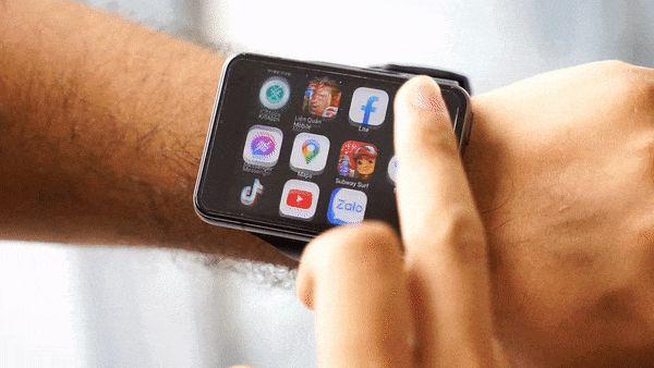 """Trên tay Lokmat Appllp Max: Smartwatch """"siêu to khổng lồ"""" chạy Android, có 4G, cấu hình """"ngon"""", đánh game phà phà - ảnh 12"""