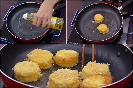 Hướng dẫn cách làm đậu hũ trứng chiên xù thơm ngon đơn giản tại nhà - ảnh 5