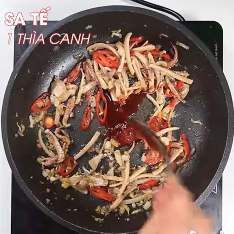 2 cách làm mực khô xào chua ngọt và xào me dễ ăn dễ nghiện đơn giản - ảnh 31