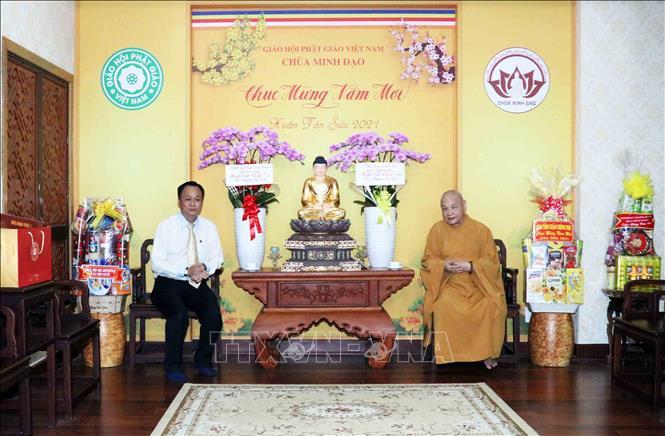 TP Hồ Chí Minh tiếp nhận thiết bị y tế do Giáo hội Phật giáo Việt Nam trao tặng - ảnh 3