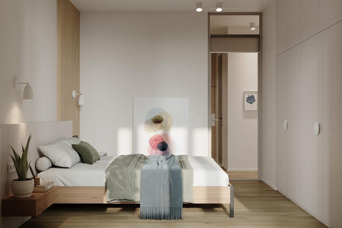 Tư vấn thiết kế căn hộ 69m² với phong cách tối giản trong khoảng chi phí 170 triệu đồng - ảnh 7