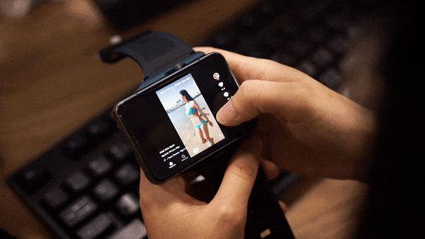 """Trên tay Lokmat Appllp Max: Smartwatch """"siêu to khổng lồ"""" chạy Android, có 4G, cấu hình """"ngon"""", đánh game phà phà - ảnh 14"""