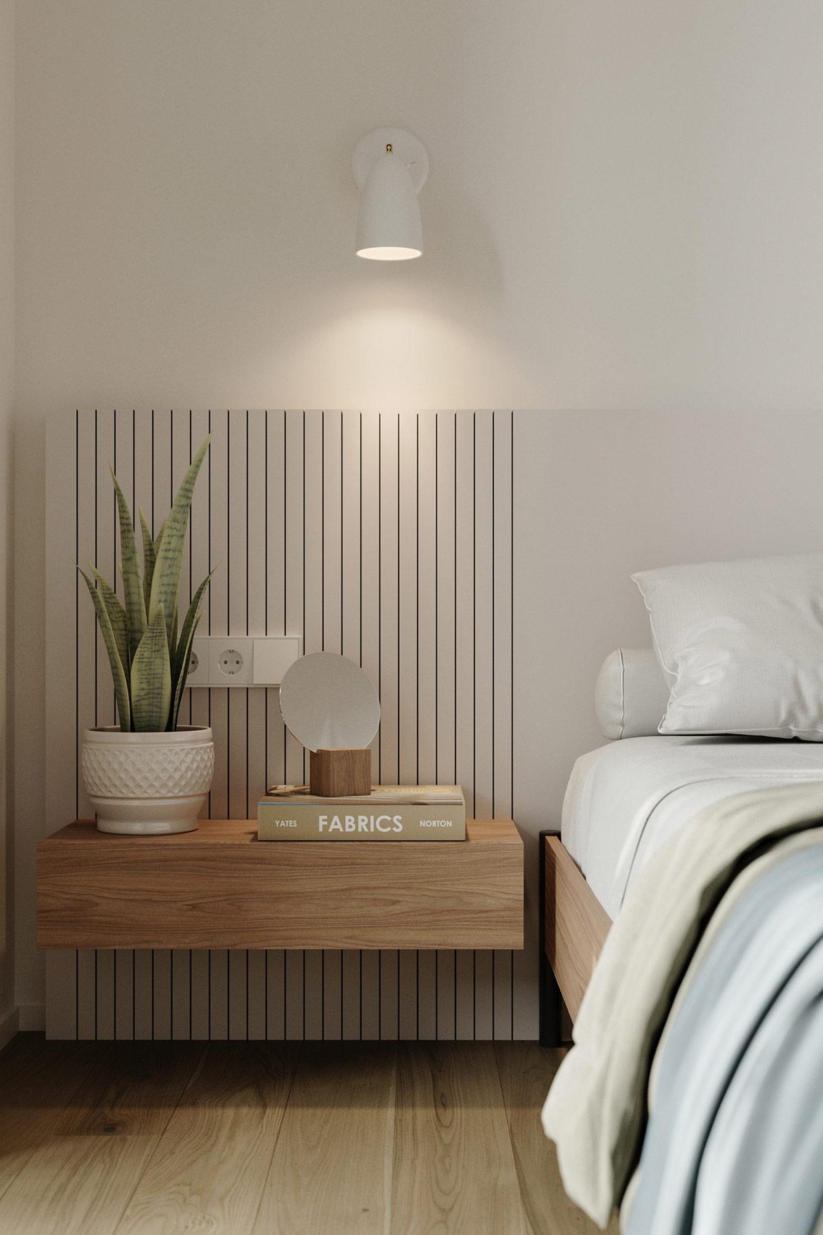 Tư vấn thiết kế căn hộ 69m² với phong cách tối giản trong khoảng chi phí 170 triệu đồng - ảnh 8