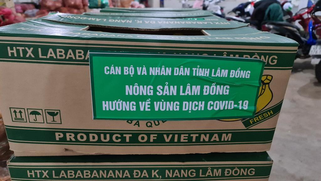 Hơn 250 tấn rau củ từ Đà Lạt hỗ trợ TP.HCM và các tỉnh vùng dịch Covid-19 - ảnh 14