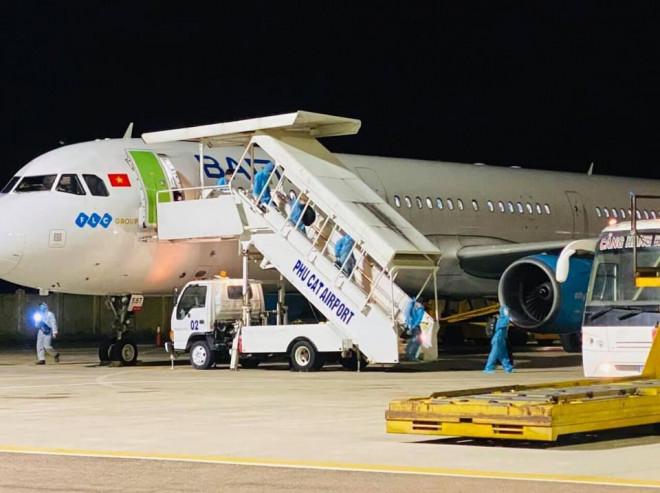Hai người từ TP HCM về Bình Định trên chuyến bay miễn phí đầu tiên mắc Covid-19 - ảnh 2