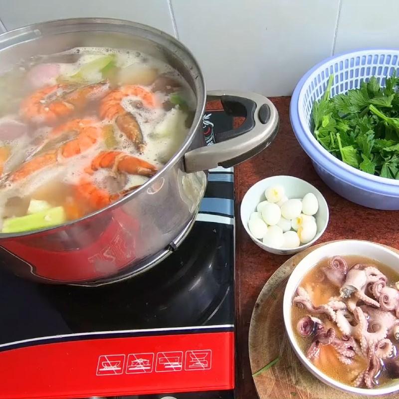 Cách làm mực khô xào dứa chua ngọt hấp dẫn bắt cơm ai cũng mê - ảnh 24